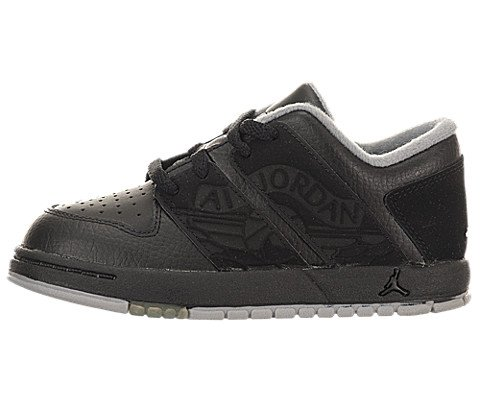 Images for Jordan NU Retro 1 Low (Toddler) - Black / White-Stealth, 8.5 M US