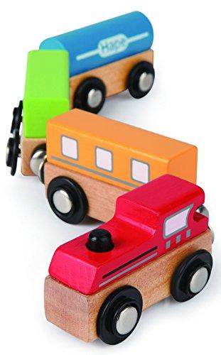 Hape Qubes - Magnetic Classic Train Toy - 1