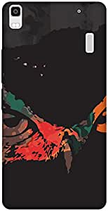 The Racoon Lean printed designer hard back mobile phone case cover for Lenovo K3 Note. (Owly Owly)