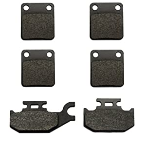 Volar A-(2xVMFA54)+VMFA307-ae-6 Kevlar Carbon Front and Rear Brake Pad