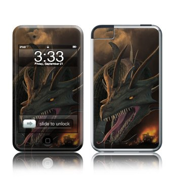 Apple iPod Touch 2G 3G Design Modding Skin Wallpaper - Annihilator