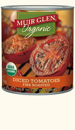Muir Glen Organic Diced Tomatoes Fire Roasted 28 oz (Pack of 2) (Muir Glen Tomatoes Diced 28 Oz compare prices)