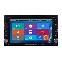 See Crusade Car DVD Player for Hyundai Universal Support 3g,1080p,iphone 6s/5s,external Mic,usb/sd/gps/fm/am Radio 6.2 Inch Hd Touch Screen Stereo Navigation System+ Reverse Car Rear Camara + Free Map Details