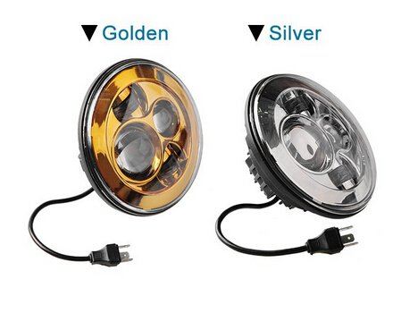 Suparee 2Pcs 7 Inch Led Headlights Car Led Work Lamps Led Round Lights Bulb Fog Lights For Jeep 4X4 Suv