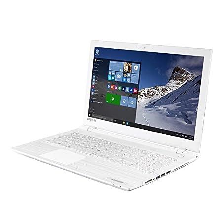 "Toshiba C55-C-1K3 Ordinateur Portable 15,6"" (39,62 cm) Blanc (Intel Core i3, 4 Go de RAM, 750 Go, Intel HD Graphics)"