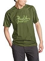 Haglöfs Camiseta Manga Corta Climatic Tees (Verde Oscuro)