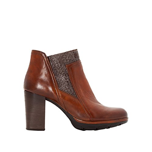 Mjus Donna Boots In Pelle Mjus Pas Taglia 36 Marrone