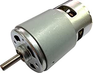 Small permanent magnet electric dc 12v brush dc motor 5500 for Small electric motor brushes