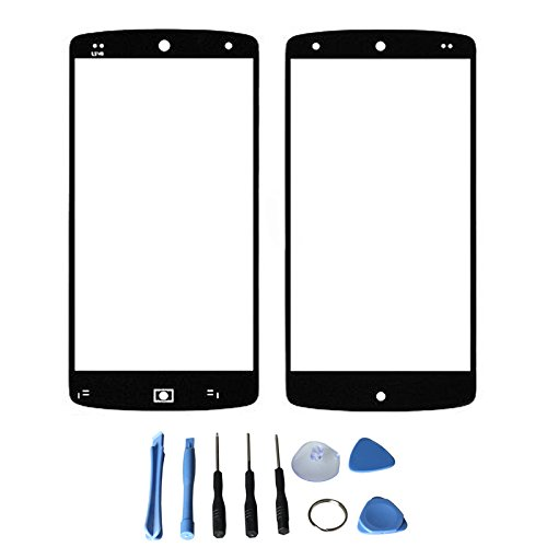 Front Screen Glass Lens For Lg Google Nexus 5 D820 D821 With Free Tools (Not Include Lcd Digitizer) (Black)