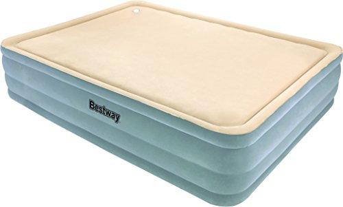 Bestway-Luftbett-Foamtop-Comfort-Queen-Size-203-x-152-x-46-cm-mit-eingebauter-Pumpe