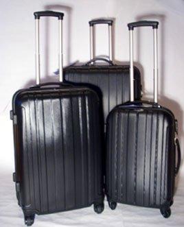 Trolley-Koffer-Set - 3-tlg. - XXL-Light - 4 Rollen
