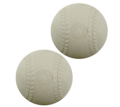 Unix No. Pl71-57 Containing 2 Pcs Standard Type 1 Ply a Softball Practice Ball (Unix)
