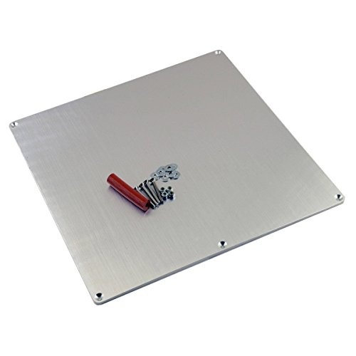 RepRap Champion 3D Printer Aluminum Heated Bed Build Plate 3-Point Adjustment RepRap Prusa i3 (Rubber Washer M3 compare prices)