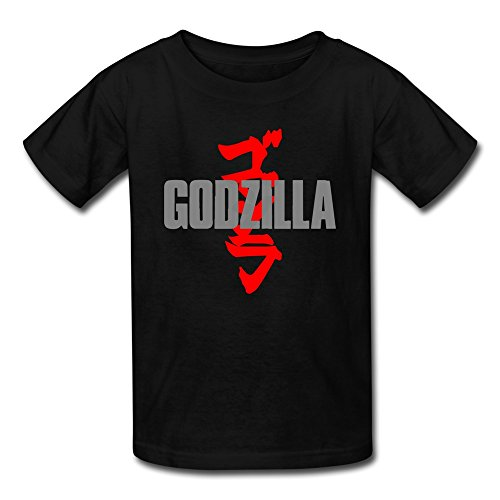 [AOPO Godzilla MUTO Tee Shirts For Kids Unisex Small Black] (Anguirus Costume)