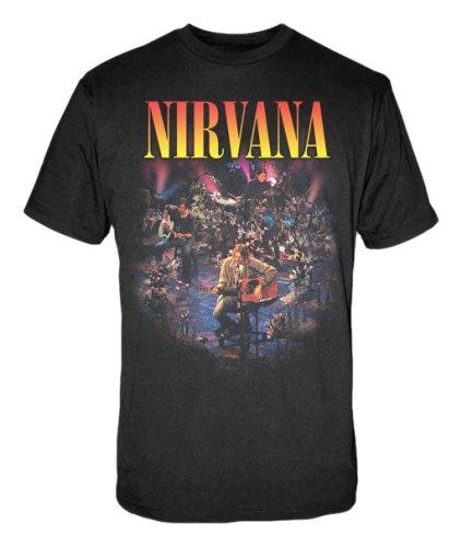 FEA Men's Nirvana Live Concert Photo Men's T-Shirt 0