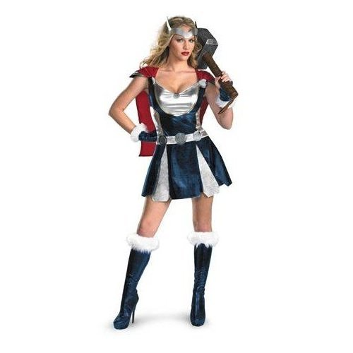 Thor Girl Costume - Small - Dress Size 4-6