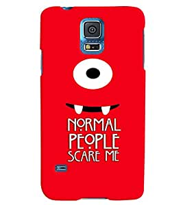 PRINTVISA Quotes Sarcastic Case Cover for Samsung Galaxy S5
