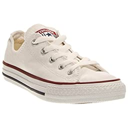 Converse All Star Ox Youth US 3 White Sneakers (10.5)