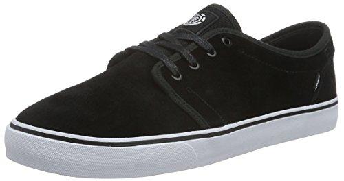 ElementElement DARWIN Herren Sneakers - Scarpe da Ginnastica Basse Uomo , Nero (Schwarz (6320 Black White)), 43