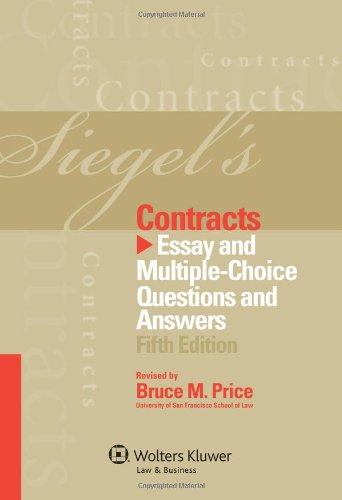 contracts essay answers