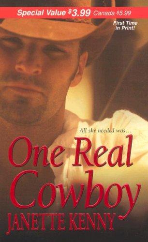One Real Cowboy (Zebra Debut), JANETTE KENNY