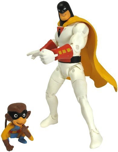 "Hanna Barbera Space Ghost & Blip 6"" Figure Set Jazwares"