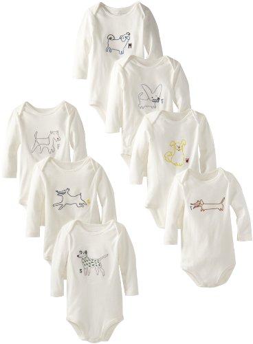 Stella McCartney Baby-Girls Newborn Sammie Baby 7 Days A Week Bodies, Ivory, 3 Months  Review