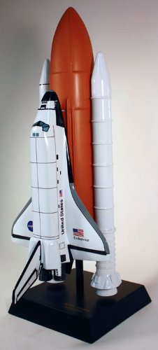Space Shuttle F/S Endeavour (L) Quality Desktop Model 1/100 Scale / Unique and Perfect Gift Idea / Museum Quality Handcrafted Spacecraft Replica Display / Collectible Gift Toy