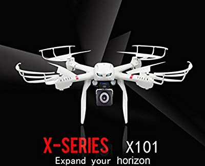 E-wonderful 2.4G 6-Axis 3D Roll FPV Wifi MJX X101 Drone RC Quadcopter With C4008 Aerial Camera