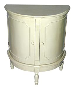 half round accent table white. Black Bedroom Furniture Sets. Home Design Ideas