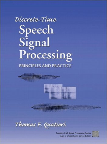 Discrete-Time Speech Signal Processing: Principles and...