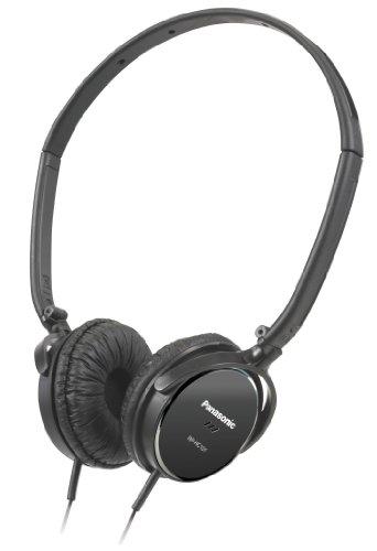 Panasonic- Rp-Hc101E-K Noise Cancelling Super Slim Headphone