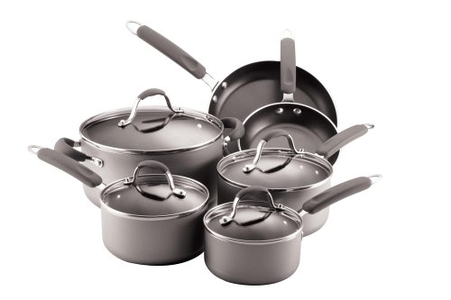 Review NonStick Set: Farberware Enhanced 10-Piece Nonstick ...