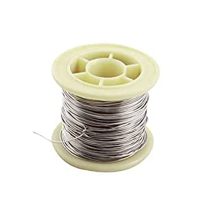 50ft 0.7mm AWG21 Gauge Nichrome Resistor Wire for Frigidaire Heater