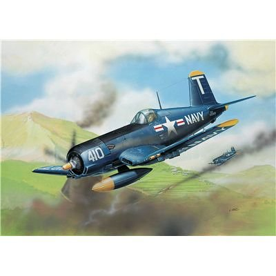 Revell-Modellbausatz-04143-F4U-5-Corsair-im-Mastab-172