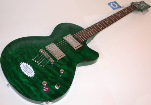 Daisy Rock Rock Candy Special Electric Guitar, Emerald Velvet