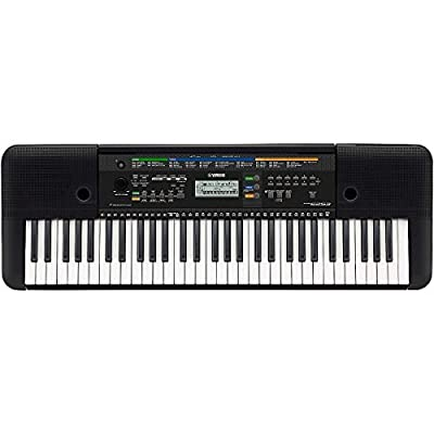 Yamaha PSRE253 61-Key Portable Keyboard Package Black from Yamaha