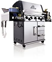 Hot Sale Broil King 958647 Imperial 590 Natural Gas Grill with Side Burner and Rear Rotisserie