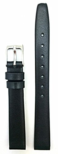 Newlife Black Elegant Calf Leather, Flat, 13Mm