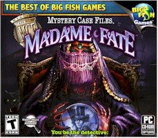 High Quality New Big Fish Games Mystery Case Files Madame Fate Puzzle Solving Pc Software Windows Xp Vista 7