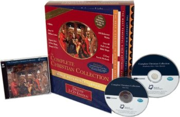 Complete Christian Collection Bible Software Library (Deluxe 2-Cd Edition): 8 Bibles, 340 Reference Works, Folio® Search Software, 4.5 Million Cross-Reference Links