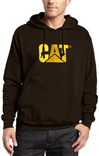 Caterpillar Men's Trademark Hooded Sweatshirt