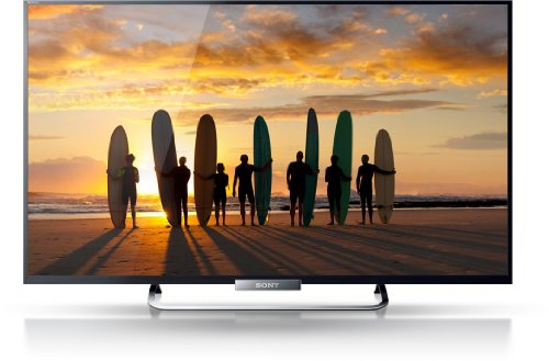 Sony BRAVIA KDL-42W655 107 cm (42 Zoll) LED-Backlight-Fernseher, EEK A+ (Full-HD, Motionflow XR 200Hz, DVB-T/C/S2, WLAN, Smart TV) schwarz
