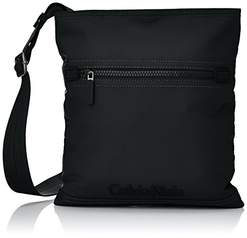 Calvin Klein Metro Flat Crossover Borsa, Uomo, Colore Black 1