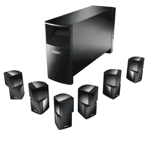 home theater systems bose acoustimass 16 6 1 channel. Black Bedroom Furniture Sets. Home Design Ideas