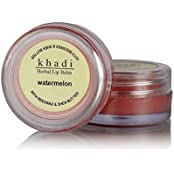 Khadi Natural Watermelon Lip Balm With Beeswax And Shea Butter,10gm(pack Of 4)