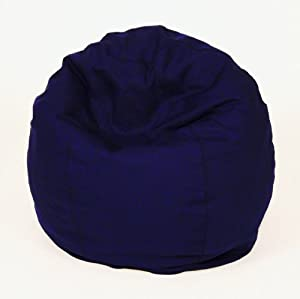 Bean Products Comfy Bean Beanbag Small Cotton - Navy Blue