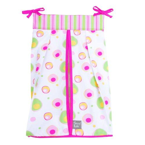 Trend Lab Diaper Stacker, Splash Pink front-276813