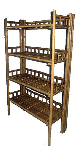 Bamboo Foldable Shelves (Foldable Display Shelves compare prices)