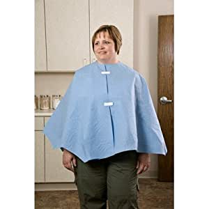 "Amazon.com: 48"" x 23"" Exam Capes Poncho Style, Scrim Reinforced in"